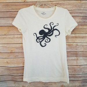 J Crew Collectors Octopus Tee